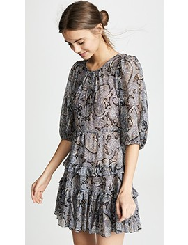 Selene Paisley Dress by Rebecca Taylor