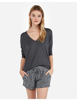 Express One Eleven Cozy Chenille Shorties by Express