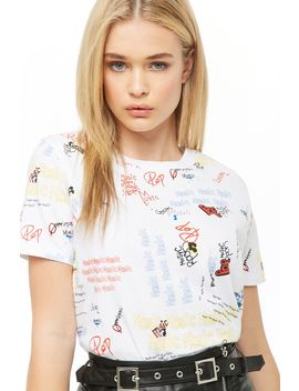 Music Graphic Tee by Forever 21