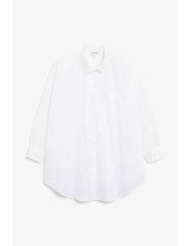Below The Hip Blouse by Monki