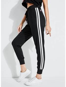 Knit Stripes Joggers by Guess