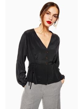 Tie Side Blouse by Topshop