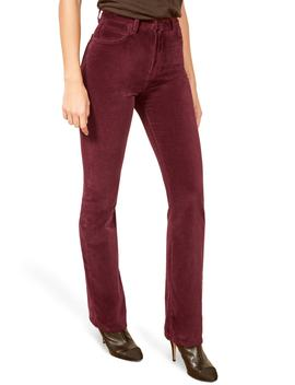 Stretch Cotton Velvet Pants by Reformation