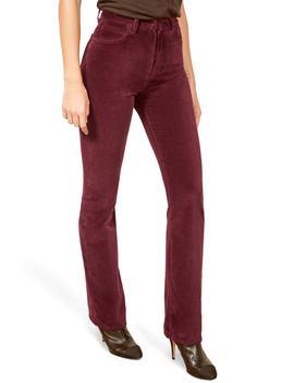 Stretch Cotton Velvet Pants by Reformation