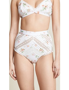 Heathers Pintuck Lace Bottoms by Zimmermann