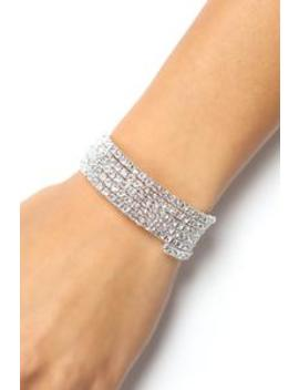 Do You Remember Bracelet   Silver by Fashion Nova