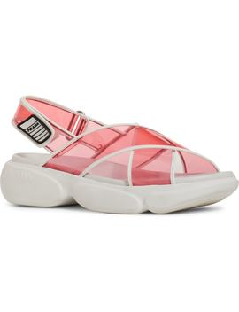 Transparent Strap Sport Sandal by Prada