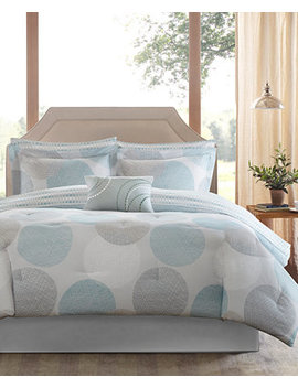 Knowles 7 Pc. Twin Comforter Set by Madison Park Essentials