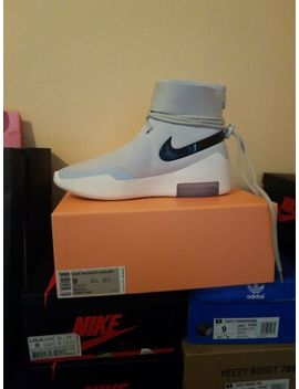 Nike Air Fear Of God Fog Shoot Around Sa At Light Bone Size 9 by Nike