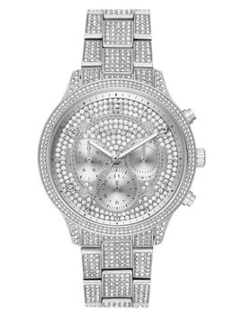 Runway Crystals Bracelet Watch, 43mm by Michael Michael Kors