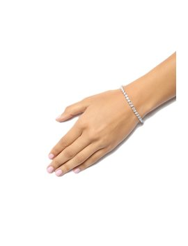Keep It Icy Bracelet   Silver by Fashion Nova
