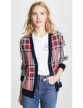 Tartan Plaid Cardigan by Bop Basics