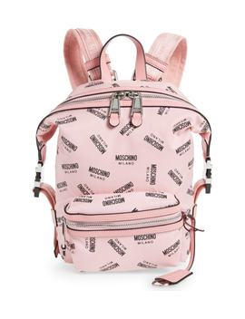Small Logo Backpack by Moschino
