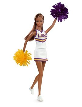 Barbie Collector Louisiana State University African American Doll by Barbie