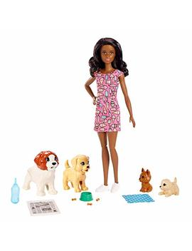 Barbie Doggy Day Care Playset (Dark Hair) by Barbie