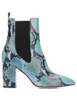 Python Embossed Boots by Paris Texas