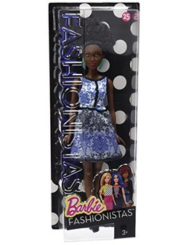 Barbie Fashionistas Doll 25 Blue Brocade   Petite by Barbie
