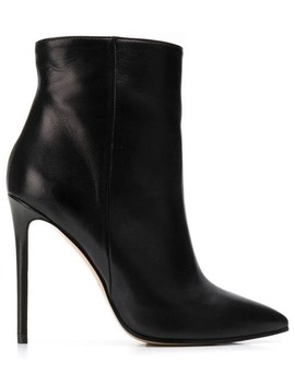 Pointed Toe Ankle Boots by Marc Ellis