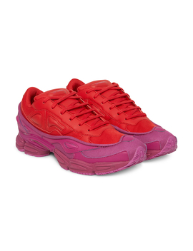 Ozweego Sneakers Glory / Collegiate Red by Adidas By Raf Simons