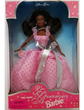 1997 Wal Mart 35th Anniversary African American Barbie by Barbie