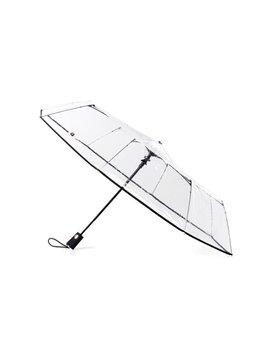 Auto Open Close Clear Umbrella by Totes