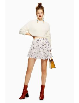 Pansy Flippy Mini Skirt by Topshop