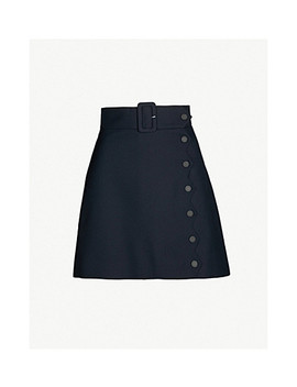 Lauren Woven Skirt by Sandro