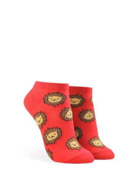 Lion Graphic Ankle Socks by Forever 21