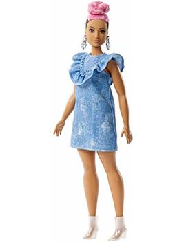 Barbie Fashionistas Blue Jean And Pink Hair Doll by Barbie