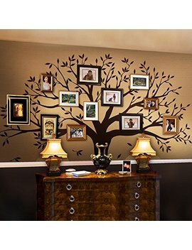 family-tree-wall-decal-by-simple-shapes-(chestnut-brown,-standard-size:-107-x-90-inch) by simple-shapes