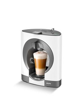 Nescafé Dolce Gusto   White 'oblo®' Nescafe Dolce Gusto Coffee Machine Kp110140 by Nescafé Dolce Gusto