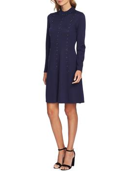 Embellished Sweater Dress by Cece