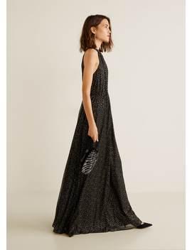 Vestido Comprido Halter by Mango