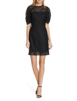 Kara Lace Sheath Dress by Milly