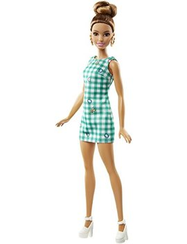 Barbie Fashionistas 50 Emerald Check Doll by Barbie