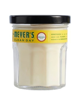Mrs. Meyer's® Honeysuckle Soy Glass Candle   4.9oz by Mrs. Meyer's