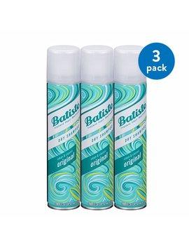 (3 Pack) Batiste Instant Hair Refresh Dry Shampoo Original Clean & Classic, 6.73 Fl Oz by Shampoo