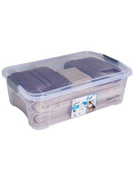 Wilko Modular Storage Underbed Box And Lid 32 L Wilko Modular Storage Underbed Box And Lid 32 L by Wilko