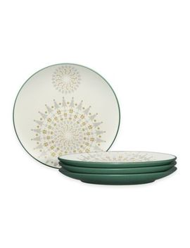 Noritake® Colorwave Holiday Accent Plates In Spruce (Set Of 4) by Bed Bath And Beyond