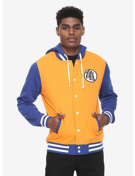 Dragon Ball Z Goku Varsity Hoodie by Hot Topic