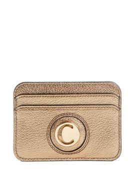 Metallic Leather Card Case by ChloÉ