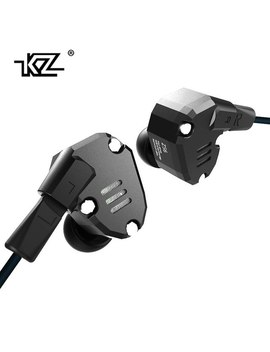 Ak Kz Zs6 2 Dd+2 Ba Hybrid In Ear Earphone Hifi Dj Monito Running Sport Earphones Earplug Headset Earbud Two Colors As10 Zst Zs10 by Kz