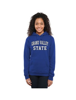 Grand Valley State Lakers Women's Everyday Pullover Hoodie   Royal by Fanatics Branded