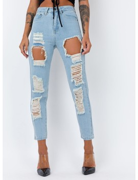 Ivey Ripped Jeans by Princess Polly