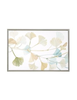 Madison Park Signature Spring Ginkgo Leaves Painting Print On Wrapped Canvas by Madison Park Signature