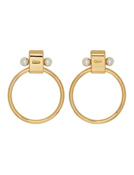 Gold Darcy Earrings by ChloÉ