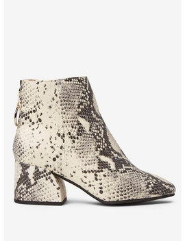 Multi Colour Snake Design 'adore' Ankle Boots by Dorothy Perkins