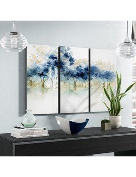 Alcott Hill 'waters Edge I' Acrylic Painting Print Multi Piece Image On Wrapped Canvas & Reviews by Alcott Hill