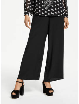 Somerset By Alice Temperley Wide Leg Trousers, Black by Somerset By Alice Temperley