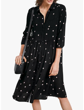 Hush Farah Star Midi Dress, Firework Star Black by Hush